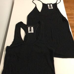 BCBGMAXAZRIA set of 2 tanks
